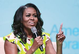 Michelle Obama. Photo: Cognotes