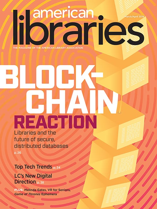 American Libraries March/April 2019 cover