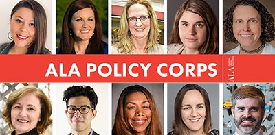 2019 ALA Policy Corps members