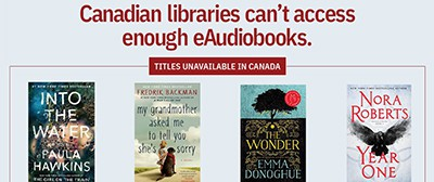 Canadian libraries can't access enough e-audiobooks