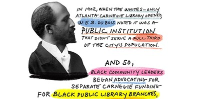 W.E.B. Du Bois and library advocacy