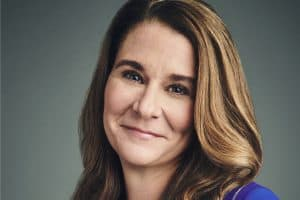 Melinda Gates (Photo: Jason Bell)