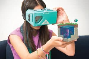 The MERGE Cube AR STEM toy works with a smartphone.