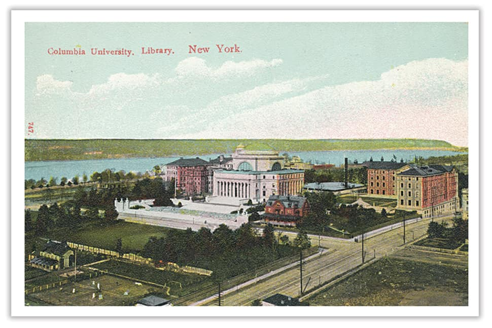 Columbia University, circa 1906. Photo: ALA Archives