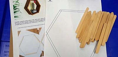 Drop-in craft activities for teens
