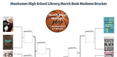 Manhasset (N.Y.) High School March Book Madness bracket