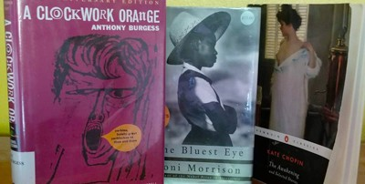 A Clockwork Orange, The Bluest Eye and The Awakening are three of several books conservative groups have tried to get removed from Florida public schools