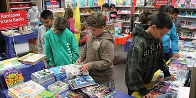 Book fair, Coronado (Calif.) Unified School District