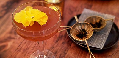 Tequila Mockingbird, inspired by the Harper Lee classic To Kill a Mockingbird, is a blood-orange tequila drink