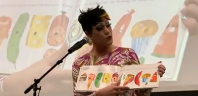Drag queens drew more than 200 people March 12 to the downtown Wichita library for a picture-book story hour