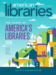 The State of America's Libraries 2019 cover