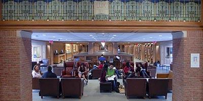 Yale University's Bass Library