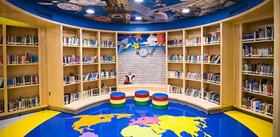 Buffalo (N.Y.) Academy of Science Charter School library