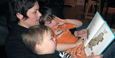 Kids getting read to. Photo: Flickr Neeta Lind