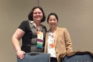 Rachel Keiko Stark, health sciences librarian at California State University, Sacramento, and Molly Higgins, reference and digital services librarian at the Library of Congress