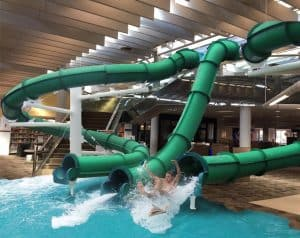 Virginia Beach Public Library waterslides