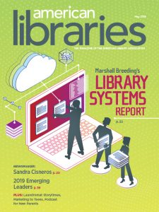 Cover of American Libraries May 2019 issue