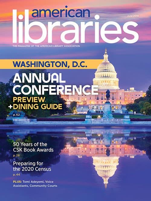 Cover of American Libraries June 2019