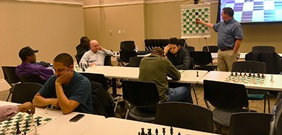 Chess tournament at Columbus (Ga.) Public Library