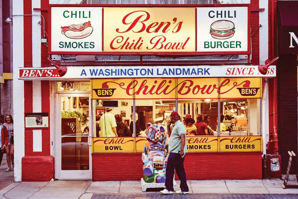Ben's Chili Bowl. Photo: washington.org