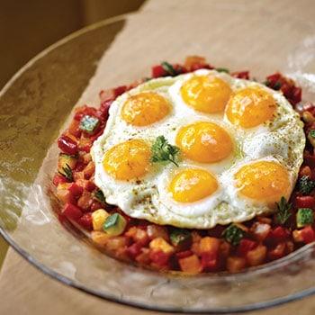 Pisto manchego con huevos at Jaleo. Photo: Jaleo