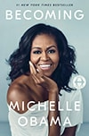 Cover of Becoming, by Michelle Obama