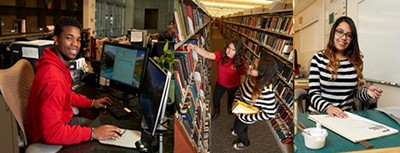 Student workers, University of Nevada, Las Vegas Library