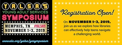 2019 YA Services Symposium, Memphis