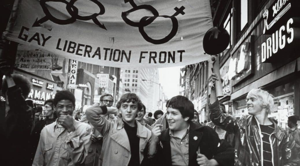 Photojournalist Diana Davies documented the activism spurred by the Stonewall raids. Her photographs, along with those of Kay Tobin Lahusen, are part of New York Public Library's exhibit marking the 50th anniversary of the Stonewall uprising. Photo courtesy of NYPL.