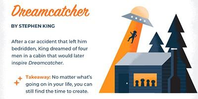 Dreamcatcher, by Stephen King