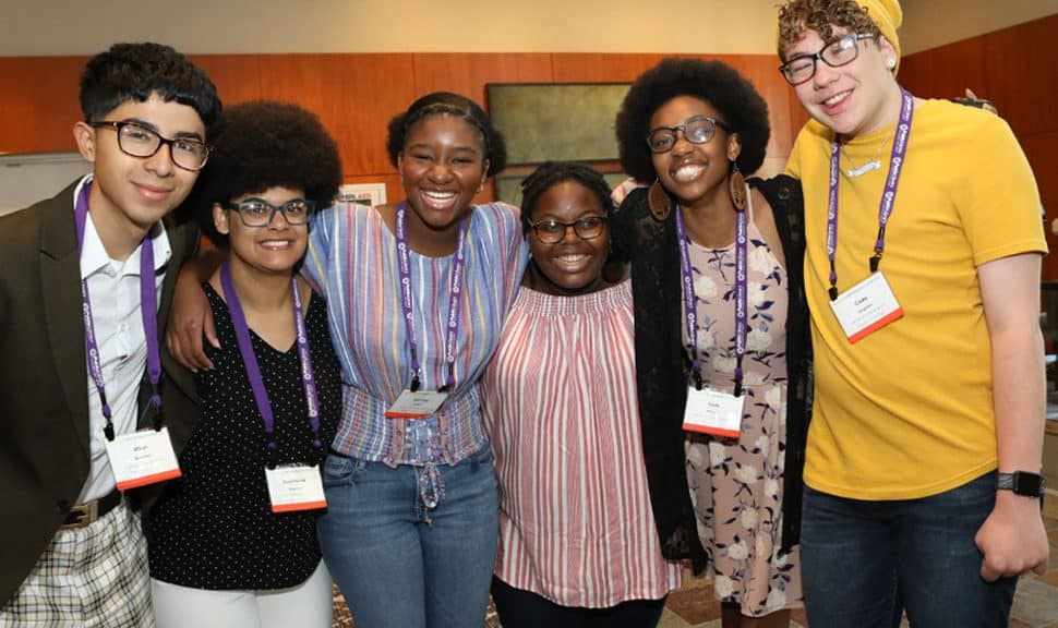 From left, Mikel Gonzales, Dominique Robinson, Sommer Kinsler, Kelsey Coston, Sade Wilkins, and Cade Longsdon are a few of this year's selected interns. Photo: Tori Soper