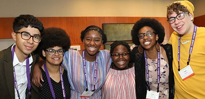 From left, Mikel Gonzales, Dominique Robinson, Sommer Kinsler, Kelsey Coston, Sade Wilkins, and Cade Longsdon are a few of this year's selected interns. Photo by Tori Soper