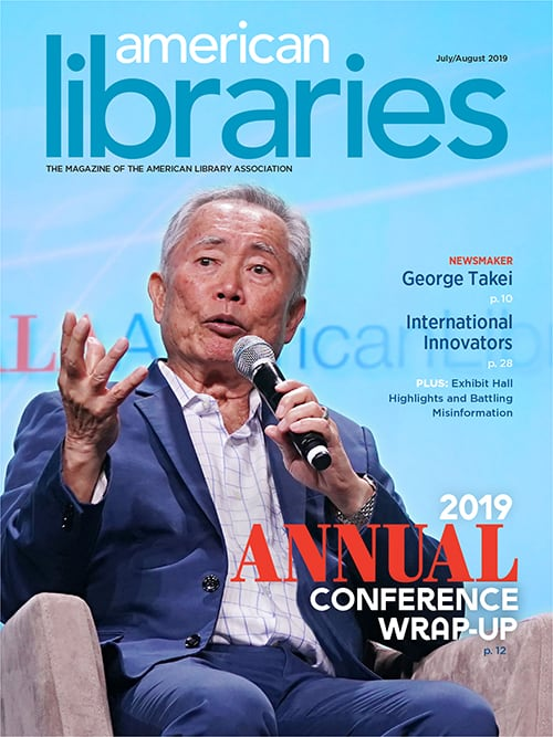 American Libraries July/August 2019 cover