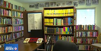 Interior of the Aripeka (Fla.) Library