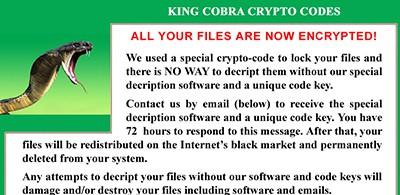 Encryption ransomware