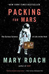 Cover of Packing for Mars, by Mary Roach