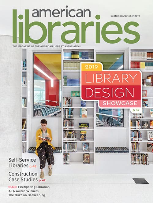 Cover of American Libraries Magazine, September/October 2019