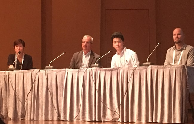 From left: Ee Min Hoon, Philip Schreur, Toru Aoike, and Eero Hammais