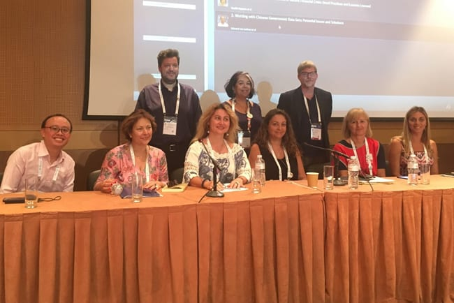 Back row, from left: Thanos Giannakopoulos, Anthi Katsirikou, and Jim Church. Front row, from left: Edward Junhao Lim, Vasiliki Rigakou, Ifigenia Vardakosta, Sotiria Salappa, Ageliki Oikonomou, and Aggeliki Giannopoulou