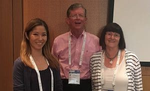 From left: Muy-Cheng Peich, Jim O'Donnell, and Ann Okerson