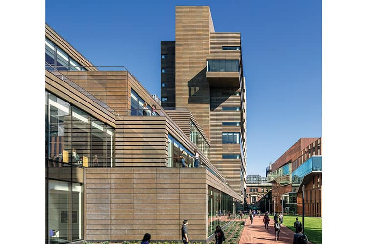 The Milstein Center at Barnard College, New York CityArchitect: Skidmore, Owings, and MerrillPhoto: Magda Biernat
