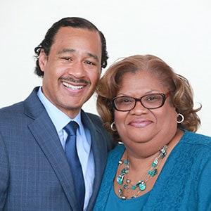 Julius C. Jefferson Jr. (left) and Lorelle Swader