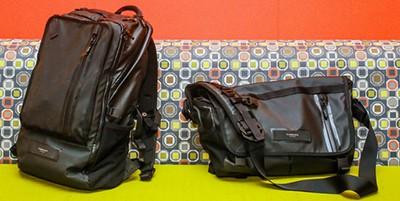 Backpacks vs. shoulder bags