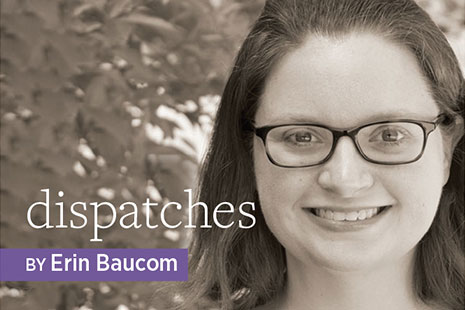 Dispatches, by Erin Baucom