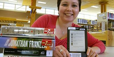 Kobo e-reader for reading library ebooks
