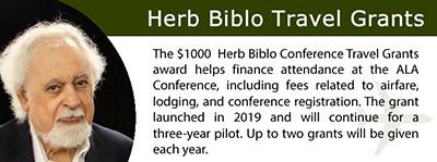 Herb Biblo Travel Grant