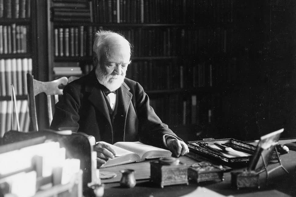 Andrew Carnegie, 1913 (Photo: Marceau, NYC)