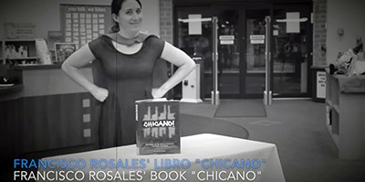 Screenshot from Homewood (Ill.) Public Library's Banned Books Week video, Leer Despacito
