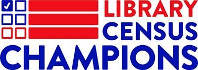 Library Census Champions logo