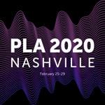 PLA 2020 Nashville conference logo